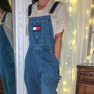 tommy hilfiger overalls 🍎
